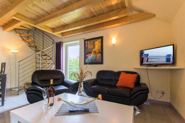 Wohnbereich Haus Sellin Wohnung Nr. Seestern Ref: 96171-3