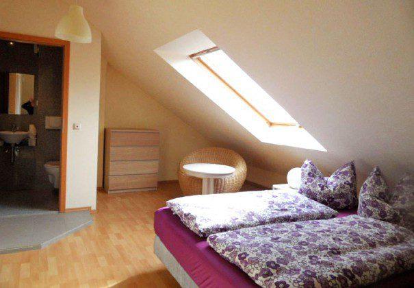Schlafzimmer 3 mit Bad en Suite Sellin Ferienwohnung Möwe Ref: 96171-6