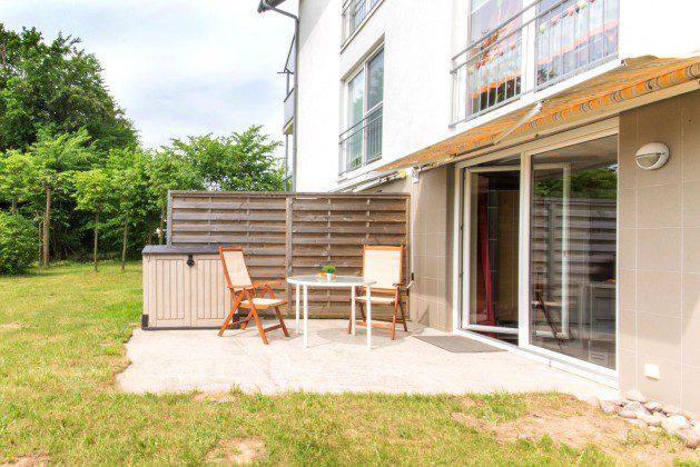 Terrasse Sellin Wohnung Strandkorb Ref: 96171-8