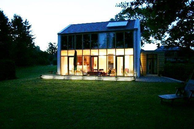 Ferienhaus am See Ref. 14215 - Haus von aussen