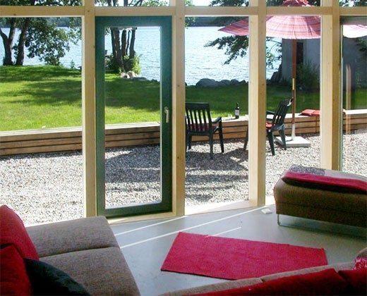 Ferienhaus am See Ref. 14215 - Blick ins Grüne