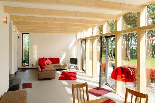 Ferienhaus am See Ref. 14215 - Wohnzimmer