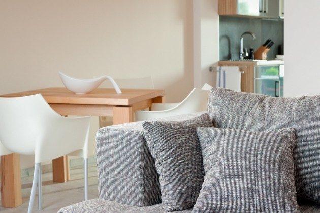 Wohnzimmer Scharbeutz Ferienwohnung am Meer