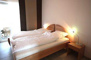 Schlafzimmer Scharbeutz Ferienwohnung am Meer