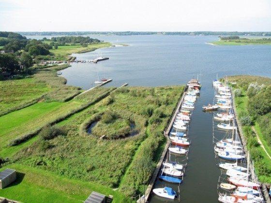 Ferienwohnung Schleswig-Holstein mit Garten