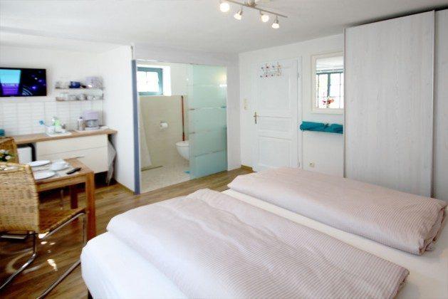 """Doppelbett mit geräumigen Kleiderschrank - Studio """"Blumenblick"""" - Ref 179373"""
