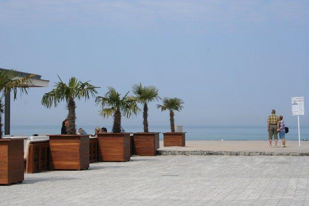 Restaurant am Strand Warnemuende Ferienwohnung am alten Strom 2098