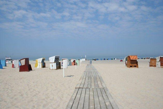 Strand von Warnemünde Warnemuende Ferienwohnung am alten Strom 2098