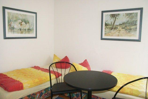 Warnemünde - Ferienwohnung am unteren Strom - Einzelbettschlafzimmer - Ref. 62295-1