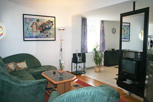 Warnemünde - Ferienwohnung am unteren Strom - Wohnzimmer - Ref. 62295-1