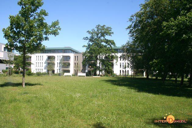 Hausansicht Residenz im Kurpark Warnemünde