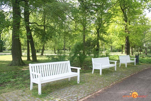 Außenanlage Residenz im Kurpark Warnemünde