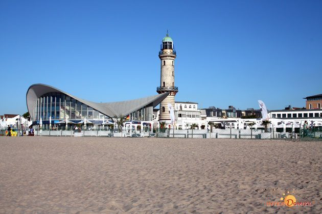 Strand in Warnemünde