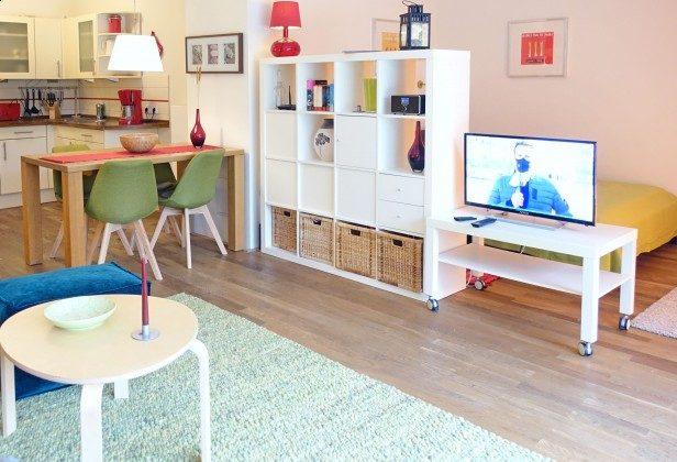 Blick zur Küche Residenz im Kurpark Ferienwohnung Strandkiesel Ref. 39997