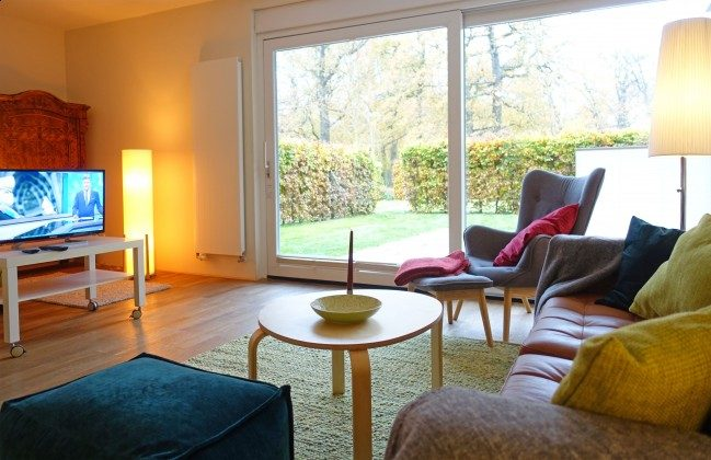 Wohnbereich Warnemünde Residenz im Kurpark Ferienwohnung Strandkiesel Ref. 39997