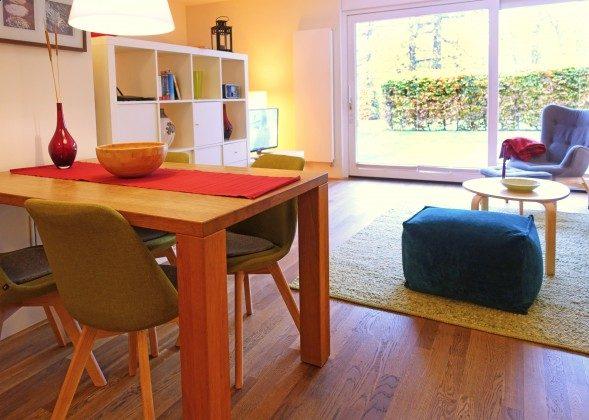 Wohn-/ Essbereich Warnemünde Residenz im Kurpark Fewo Strandkiesel Ref. 39997