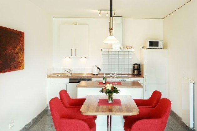 Küchenbereich Warnemünde Residenz im Kurpark Ferienwohnung Seestern Ref. 41165