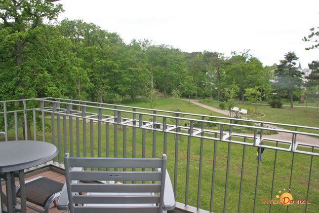Balkon Warnemünde Residenz im Kurpark Ferienwohnung Seestern Ref. 41165