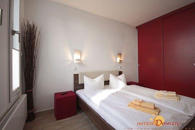 Schlafzimmer 1 Residenz im Kurpark Warnemünde Ferienwohnung Pier 1 Ref. 41248