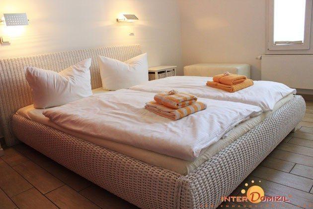Schlafzimmer 2 Residenz im Kurpark Warnemünde Ferienwohnung Pier 1 Ref. 41248