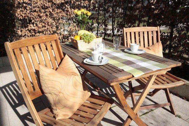 Terrasse Ferienwohnung Silbermöwe Ref: 42783-1