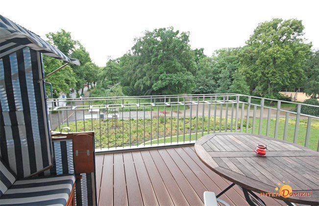 Essbereich Residenz im Kurpark Warnemünde Ferienwohnung Strandkorb Ref. 44345