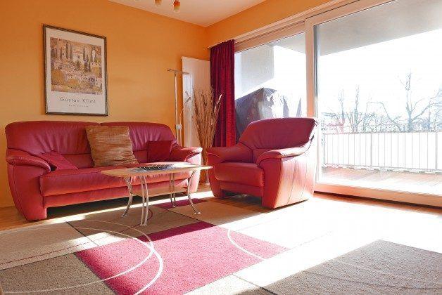 Balkon Residenz im Kurpark Warnemünde Ferienwohnung Strandkorb Ref. 44345
