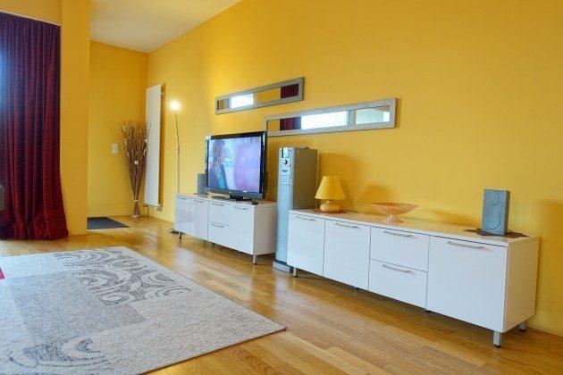 Wohnzimmer Residenz im Kurpark WarnemündeFerienwohnung Warnemünde Ferienwohnung Strandkorb Ref. 44345