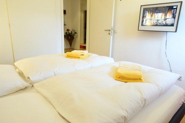 Schlafzimmer Warnemünde Residenz im Kurpark Ferienwohnung Strandflieder Ref. 46732