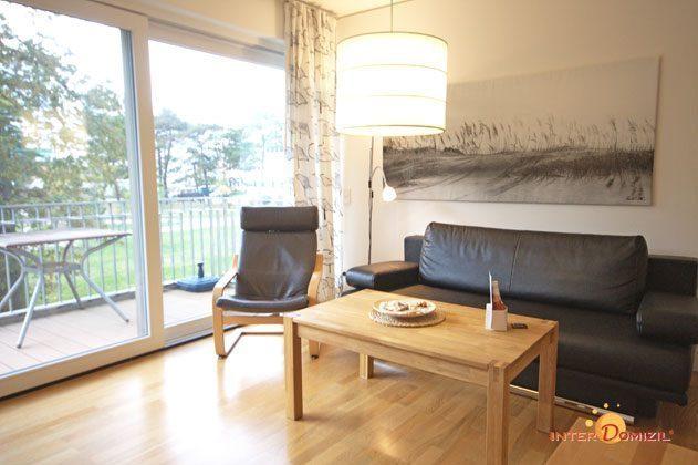 Wohnbereich Residenz im Kurpark Warnemünde Ferienwohnung Strandläufer Ref. 49069