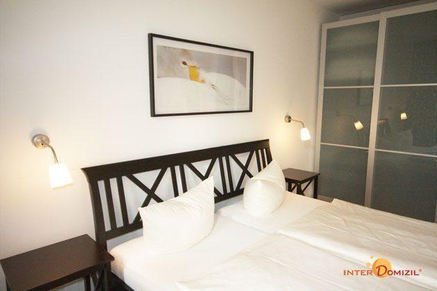 Schlafzimmer Residenz im Kurpark Warnemünde Ferienwohnung Strandläufer Ref. 49069