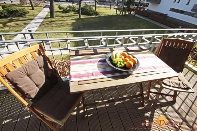 Balkon Ferienwohnung Kugelfisch 49516-1
