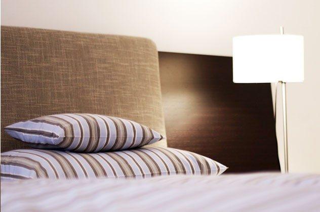 Schlafzimmer Ferienwohnung Warnemünde Residenz im Kurpark 49585-1