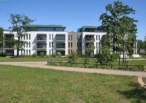 Aussenansicht Ferienwohnung Warnemünde Residenz im Kurpark 49585-1