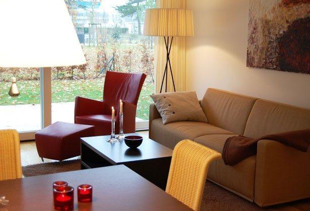 Wohnbereich Ferienwohnung Warnemünde Residenz im Kurpark 49585-1