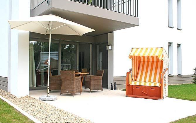 Terrasse Warnemünde Ferienwohnung Sherrytime 2 Ref: 49585-2