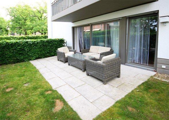 Terrasse - Ferienwohnung Ref. 52120 - Residenz im Kurpark