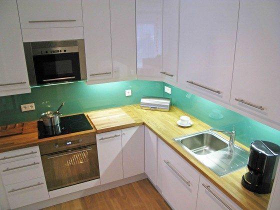 Küche - Ferienwohnung Ref. 52120 - Residenz im Kurpark