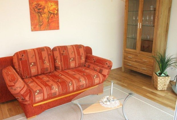Warnemünde Ferienwohnung Meyer - Sofabereich - Ref: 53435