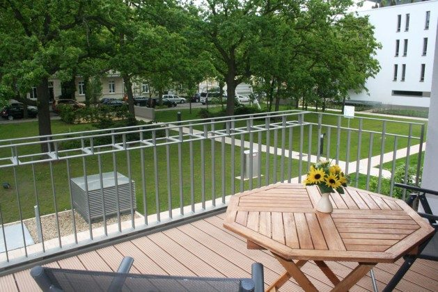 Warnemünde Ferienwohnung Meyer - Balkon - Ref: 53435