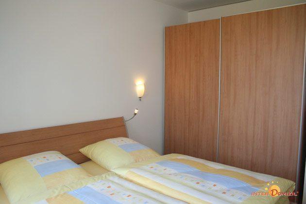 Schlafzimmer Residenz im Kurpark Warnemünde Ferienwohnung Seeigel Ref. 53533