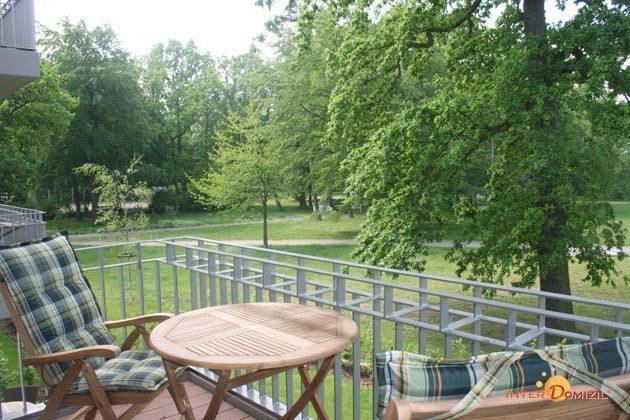 Balkon Residenz im Kurpark Warnemünde Ferienwohnung Seeigel Ref. 53533