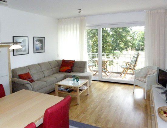 Wohnbereich Residenz im Kurpark Warnemünde Fewo Seeigel Ref. 53533