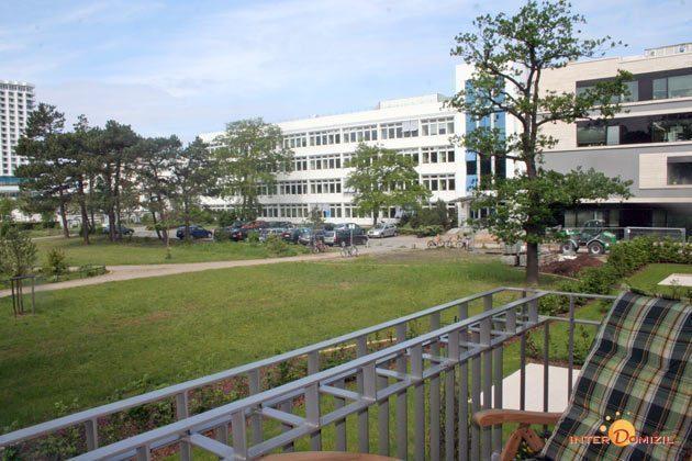 Balkonaussicht Residenz im Kurpark Warnemünde Ferienwohnung Seeigel Ref. 53533