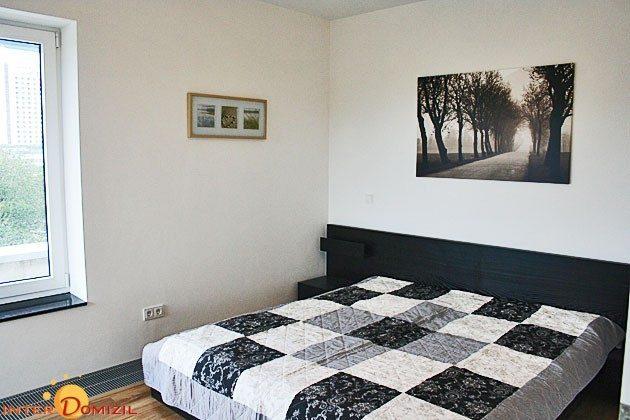 Schlafbereich Penthouse Warnemünde