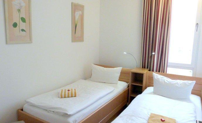 Warnemünde - Ferienwohnung Seehund - Schlafzimmer- Ref: 54901