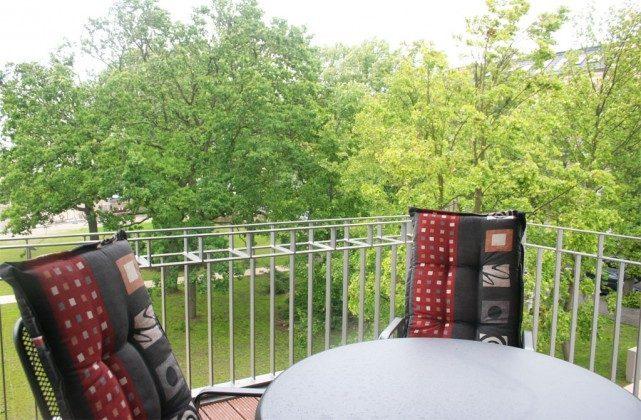 Warnemünde - Ferienwohnung Seehund - Balkon - Ref: 54901