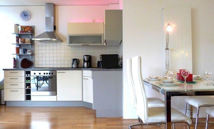 Warnemünde - Ferienwohnung Seehund - Küche - Ref: 54901