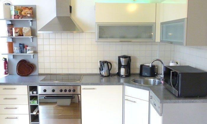 Warnemünde - Ferienwohnung Seehund - Küche- Ref: 54901
