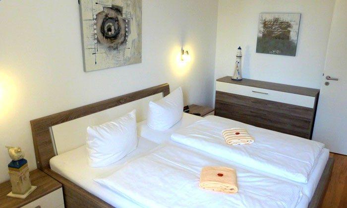 Warnemünde - Ferienwohnung Seehund - Schlafzimmer - Ref: 54901